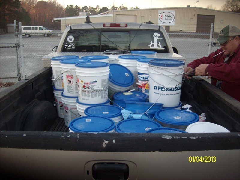 New Bethel flood bucket 2013 1