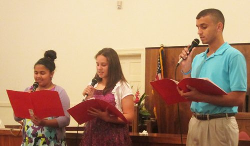 Gospel sing apr f