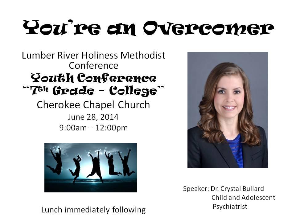 Overcomer Flyer 2014 cherokee