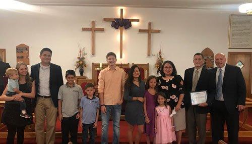 Local Preacher Bobby Locklear (New Bethel) 2019