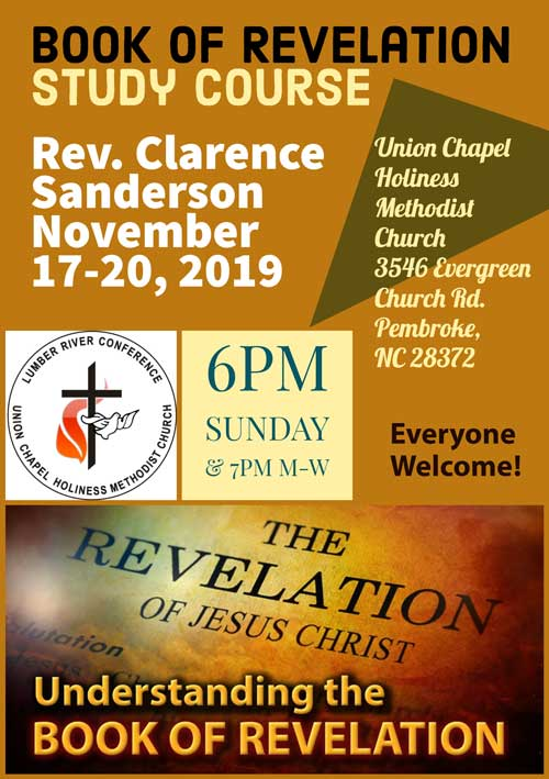 Study Course: Book of Revelation 2019 ( Union Chapel)