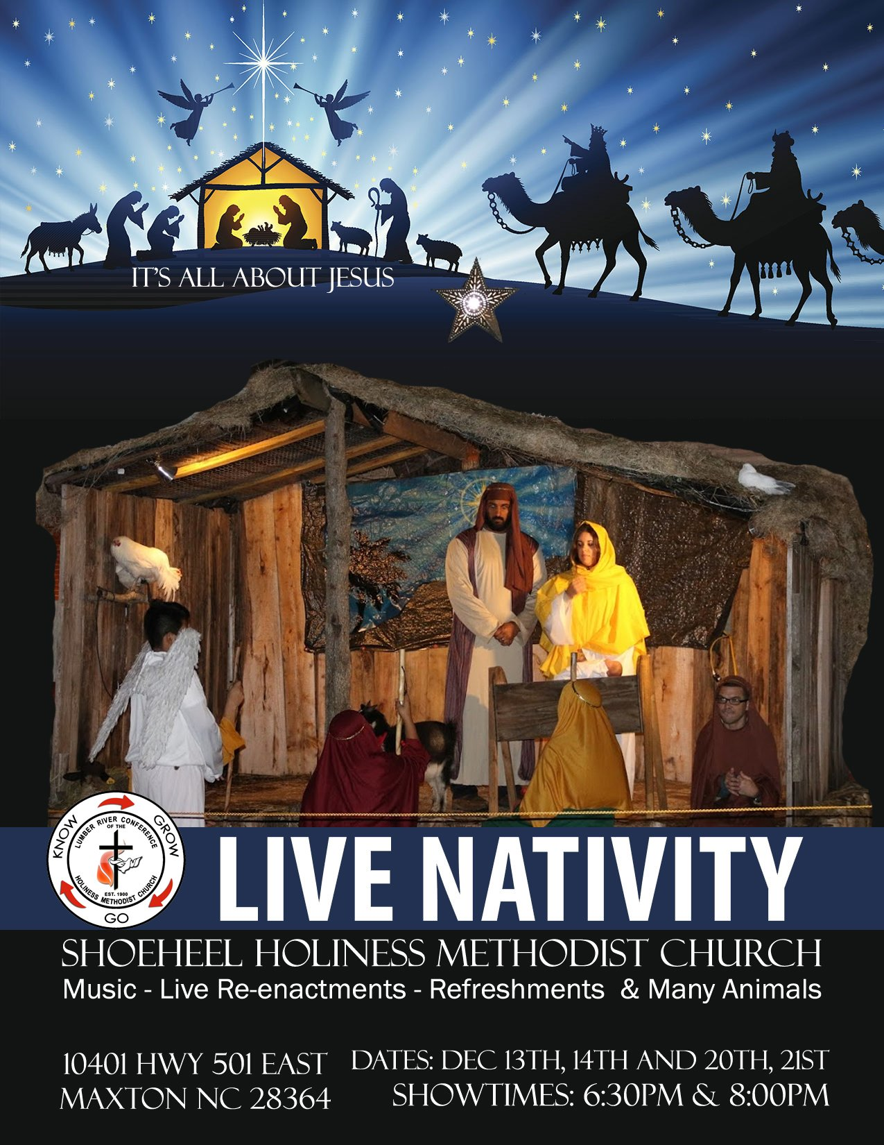 Live Nativity (Shoeheel) 2019