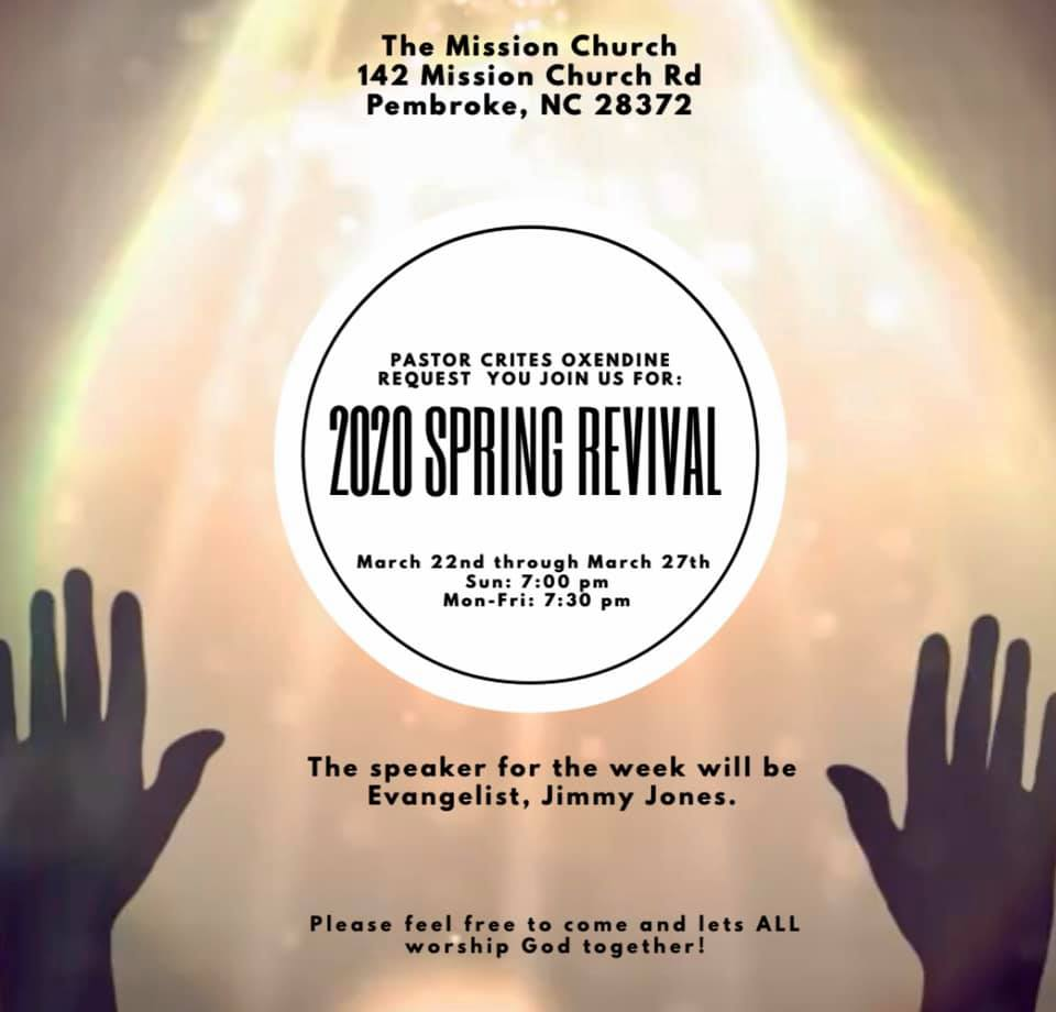 Mission Church Spring Revival 2020
