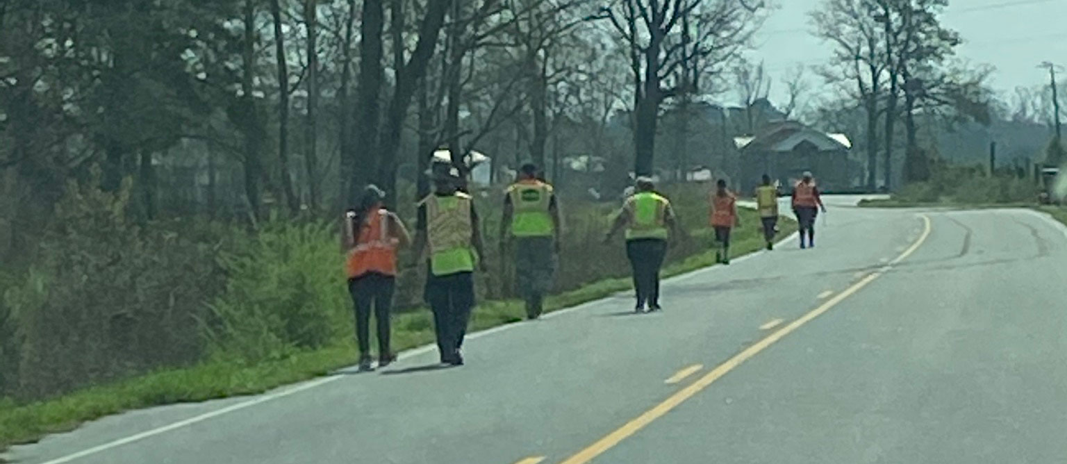 Adopt a Highway Spring 2021 Union School Road – Hopewell
