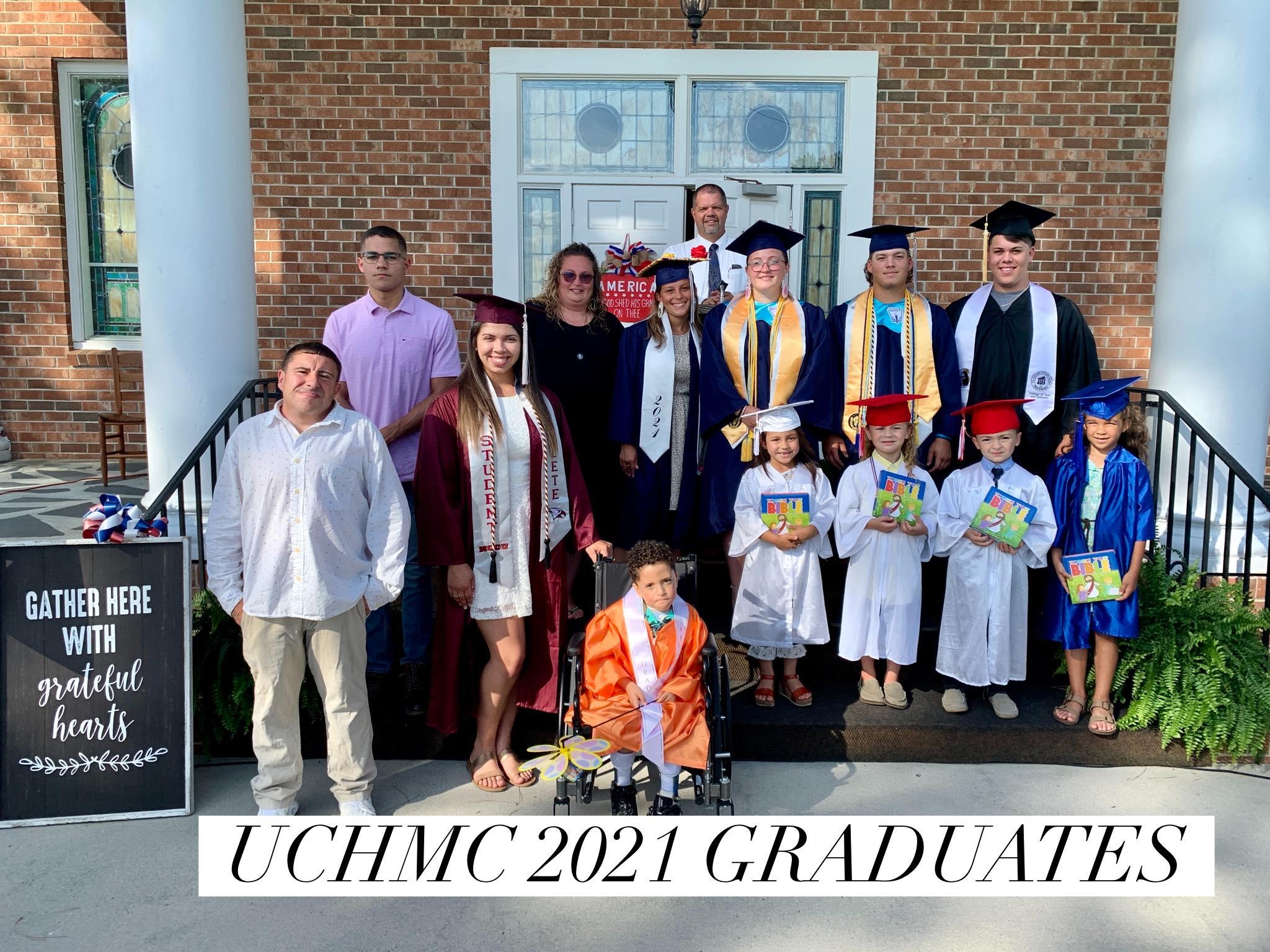 Graduation Sunday 6.13.2021
